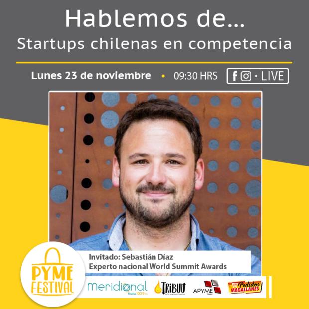 Startups chilenas que competirán en el World Summit Award