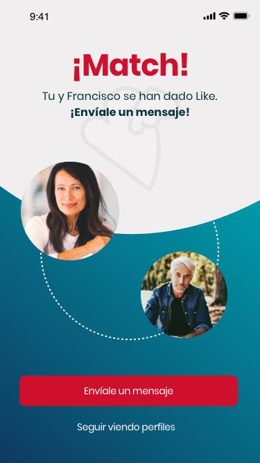 TENLOVE: Una aplicación para que mayores de 50 encuentren el amor