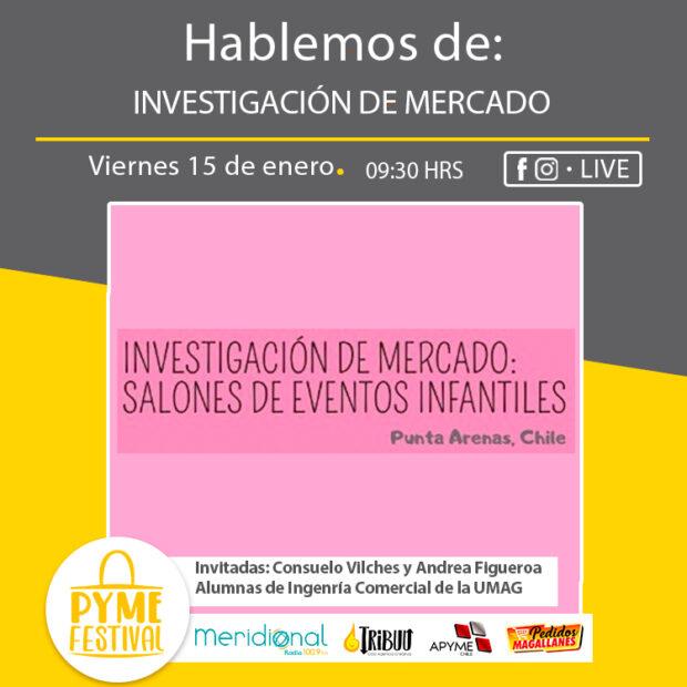 Investigación de mercado sobre salones de eventos infantiles con alumnas de la Universidad de Magallanes