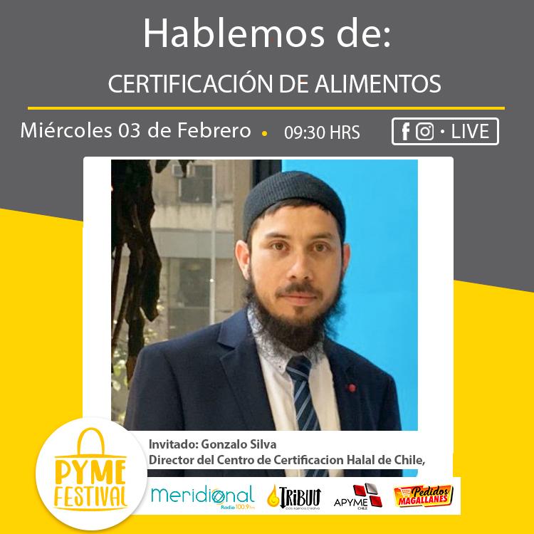 En PymeFestival: Certificación de Alimentos con Gonzalo Silva
