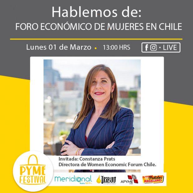 PymeFestival: Foro Económico de Mujeres en Chile