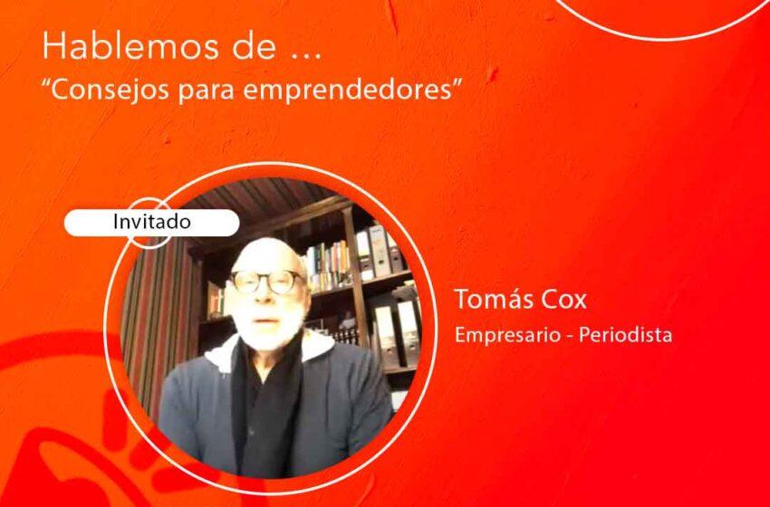 Tomas Cox entregó tips a los emprendedores en PymeFestival